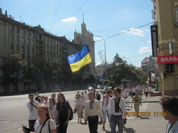 «Вишиванкова хода» стала традиційним заходом з відзначання Дня незалежності України