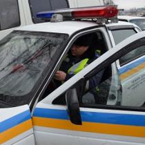 У Харкові п'яний винуватець дорожньо-транспортної пригоди розбив машину ДАІ
