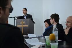 Олексій Кляшторний відкрив перше засідання