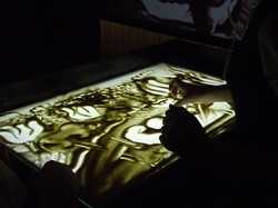 Пісочні історії оживають в галереї «Мистецтво Слобожанщини»