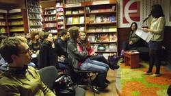 «Вечір взаємочитань» у харківській книгарні «Є»