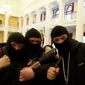 нападники у масках
