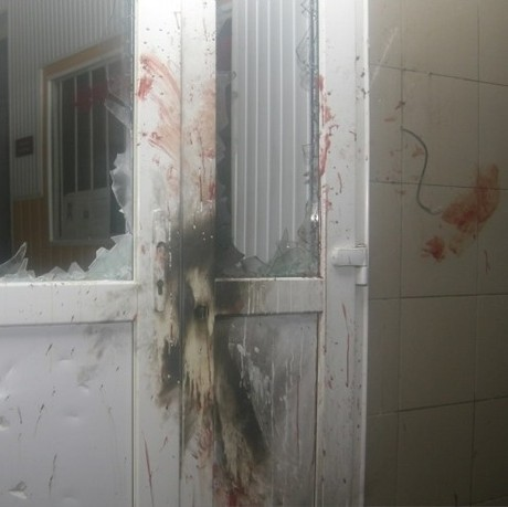 У Врадіївці місцеві жителі буквально розтрощили райвідділ міліції (ВІДЕО)