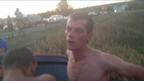 ДТП під Харковом: п'яний ДАІшник влетів у кювет, а його пасажир пропонував очевидцям зайнятися сексом (ФОТО)