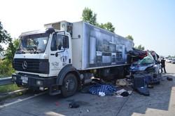 Жахлива ДТП на Харківщині: три трупи (ФОТО)