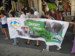 Говорити за тих, кого не можуть почути: Харків долучився до Всесвітнього маршу за звільнення тварин