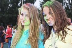 Фестиваль «Холі» у Харкові: барвистий феєрверк на честь завершення літа