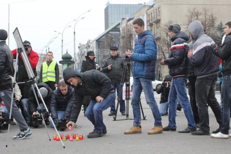 Харківські автомобілісти вшанували пам'ять жертв дорожніх аварій