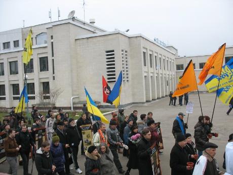 Харків вшанував пам'ять жертв Голодомору 1932-1933 років