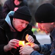 У Харкові згадали жертв Голодомору під мелодію Мирослава Скорика