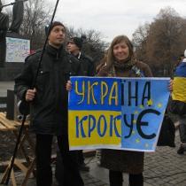 Харківський євромайдан  зібрав  близько  2 тисяч  учасників