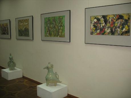 У  Харківському художньому музеї  - виставка Петра Мося