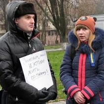 Краматорськ: стихійний Євромайданчик теж  збирається навколо Шевченка