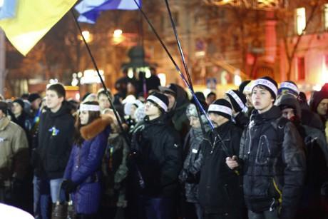 ЄвроМайдан: Сергій Жадан з «Собаками у космосі» закликав харків'ян до змін