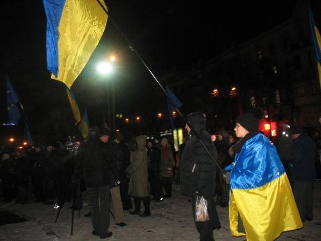 На Київ! Харківські добровольці вирушили на столичний Євромайдан