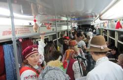 Різдвяний трамвайчик - подарунок харків'янам від харків'ян