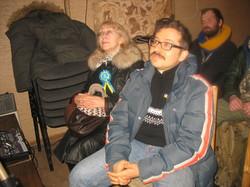 """Про поезію і не тільки: Світлана Поваляєва та Ілля Рісенберг на  поетичному вечорі  в харківському культурному центрі  """"Indie"""""""