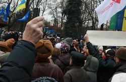 Блакитна субота 11 січня: харківський Євромайдан під матюки і АББ'у