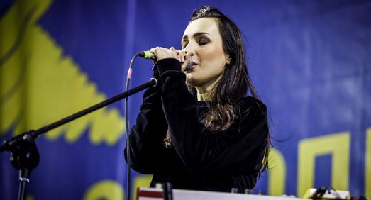 Солістка групи «Крихітка Цахес» підтримала Євромайдан у Луганську