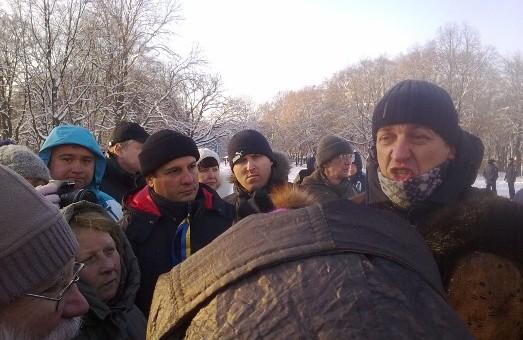 Олесь Доній в Харкові: «не треба агітувати загітованих»