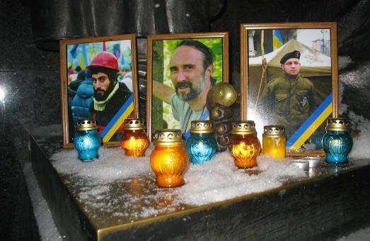 Харків'яни вчора вшанували пам'ять вбитих на вулиці Грушевського
