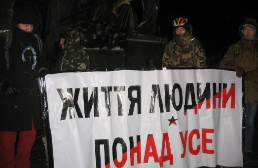 «Ми ті люди, яких не залякали»: харківський Євромайдан попри всі труднощі  продовжує  об'єднувати  небайдужих