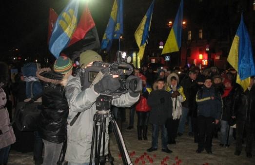 Харківський Євромайдан вшанував пам'ять героїв Крут