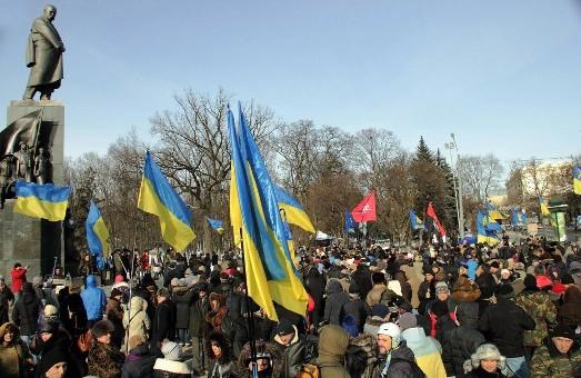 «Харків, вставай!»: в місті провели ходу за єдність України