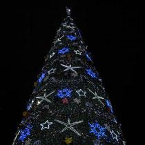 Перша новорічна ялинка з'явилася у Харкові