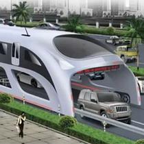 Китайці створили автобус майбутнього: затори його не лякають