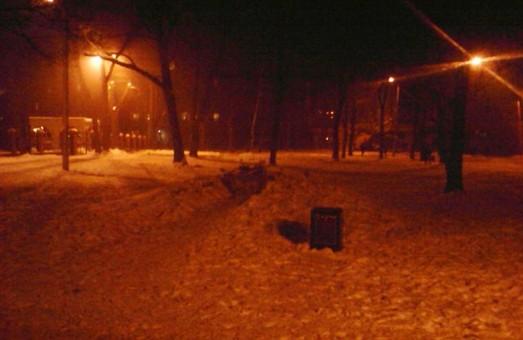 Антихристиянський акт вандалізму: в  Молодіжному парку Харкова спиляно пам'ятний хрест УПА