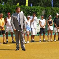 Розпочався тенісний турнір «Звільнення»