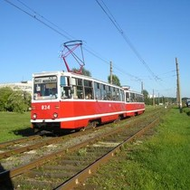 Близько 40 вагонів заблокували трамвайні шляхи на Салтівці (ФОТО)