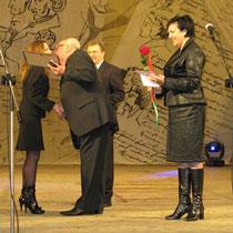 У ХАТОБі нагородили знавців російської мови та їх «сенсеїв»