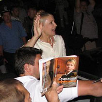 Тимошенко скоротила візит до Харківської області до мінімуму