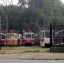 горелектротранс, трамвайне депо
