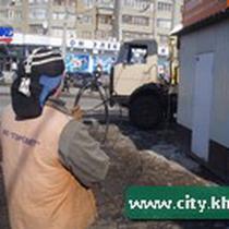 «Чистка міста, або демонтаж кіосків біля метро «Проспект Гагаріна».»