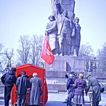 Політичні збоченці почали виходити на вулиці Харкова