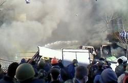 Зіткнення в центрі Києва: хроніка подій (ФОТО, ВІДЕО)