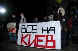 Харківський Євромайдан оголосив повну мобілізацію людей на Київ  (ФОТО)