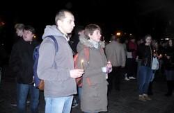За нашу і вашу свободу: майданівці вшанували загиблих та підтримали в'язнів Болотної площі