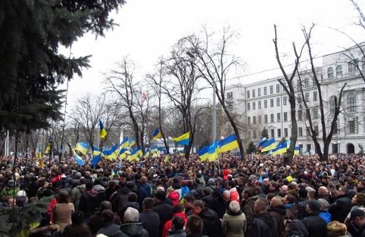 15-тисяч людей у Дніпропетровську разом заспівали гімн України
