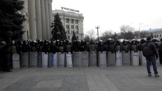 Проросійські сили вчора пікетували Харківську ОДА. Хотіли зарплати і ще чогось