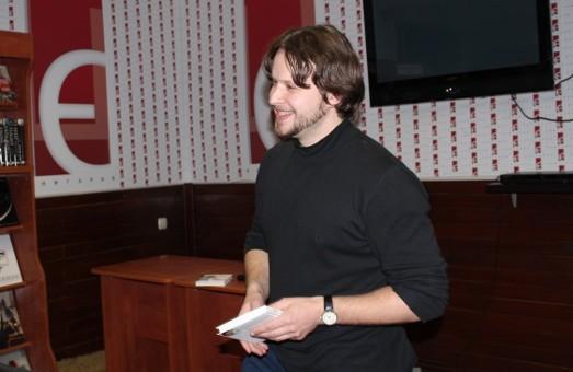 «Таємниця Єви»: Богдан Коломійчук презентував свою нову книгу