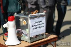 На підтримку харківського мера сьогодні відмітингували бюджетники