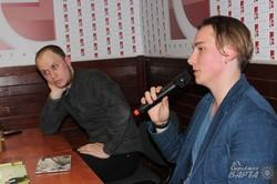 «Спати з жінками»: Андрій Любка презентував свою нову книгу