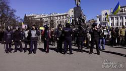 Недільне віче в Харкові та проросійські активісти.