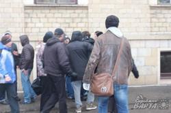 Напад сепаратистів на учасників Народного віче 13 квітня