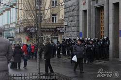 Сепаратисти в Харкові 13 квітня. Напад на харківський Євромайдан та проникнення у двір міськради