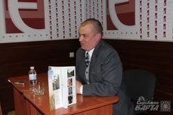 Володимир Маслійчук презентував нову книгу про Івана Мазепу